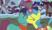Lemon Hearts kissing a stallion's cheek S6E8.png