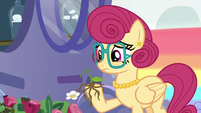 Mrs. Shy's flowers crumble in her hoof S6E11