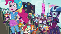 Pinkie Pie in the roller derby EG3