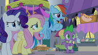 """Rainbow """"we didn't want you to freak out"""" S9E17"""