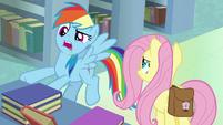 """Rainbow Dash """"created a fake author self"""" S9E21"""