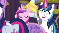 "Shining Armor ""I can't wait to get on this zeppelin"" S7E22"