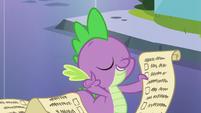 "Spike's wisdom ""trust the lesson"" S6E1"