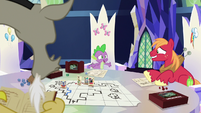 """Spike """"everypony laughs harder!"""" S6E17"""