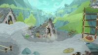 Sweat lodge collapses to pieces S8E21