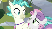 """Sweetie Belle """"what's that wonderful sound?"""" S8E6"""