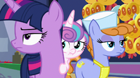 Twilight annoyed; Flurry Heart embarrassed S7E3
