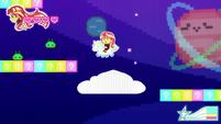 8-bit Sunset jumping on more enemies CYOE12a