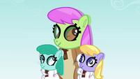Animals with pony masks S2E22