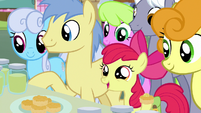 "Apple Bloom ""welcome to Ponyville!"" S7E13"