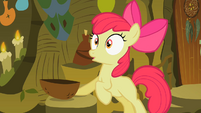 Apple Bloom after drinking the brew S2E06