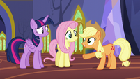 """Applejack """"You know everything about these fellers"""" S5E11"""