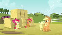 Applejack 'There'll be plenty of time' S3E08