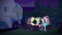 Equestria Girls roast marshmallows again EGSBP