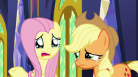 """Fluttershy """"what if we don't talk as much?"""" S9E26"""