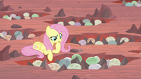 Fluttershy thinking for a moment S9E9