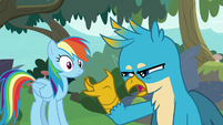 """Gallus """"we can just fly everyone over"""" S8E9"""
