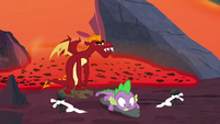 Garble stunned by Spike's victory S7E25