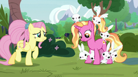 Luster Dawn meets Angel Bunny's family S9E26