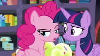 """Pinkie Pie """"took care of the fireworks"""" S9E26"""