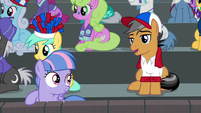 """Quibble """"I'll try to remember that"""" S9E6"""