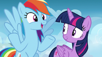 """Rainbow """"grab her and show us what you got"""" S6E24"""