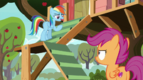 """Rainbow """"rip up all your Washout posters"""" S8E20"""