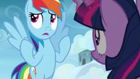 """Rainbow Dash """"I practically fell asleep"""" S6E24"""