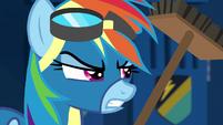 Rainbow Dash getting annoyed S6E7
