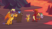 Smolder gets between Garble and his friends S9E9