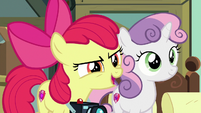 "Apple Bloom ""they'll have to let you stay"" S9E12"