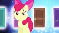 Apple Bloom sorry for Sweetie Belle S5E4
