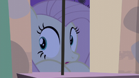 Fluttershy looking through the window S5E02