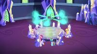Friendship journal releasing six orbs of magic S7E14