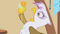 Gilda drinking from dribble glass S1E05