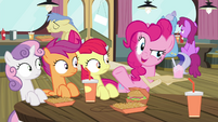 """Pinkie Pie """"Haven't seen you here in, like"""" S4E15"""