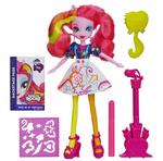 Pinkie Pie Equestria Girls Rainbow Rocks designing skirt doll