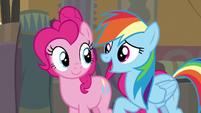 "Rainbow Dash ""if something bad happens"" S7E18"
