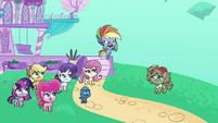Rainbow Dash accusing Dishwater Slog PLS1E2b