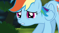 Rainbow tells herself to -think fast- S4E04