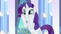 """Rarity """"There are Crystal Ponies?!"""" S3E1"""