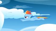 S01E23 Młoda Rainbow w locie
