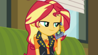 Sunset Shimmer talking to Timber Spruce CYOE3c