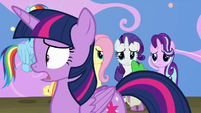 "Twilight ""we can't make Celestia an actress"" S8E7"