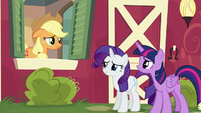 Twilight --get somepony else in your family to take over-- S6E10