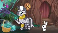 "Zecora ""to some pony who understood"" S9E18"