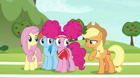 """Applejack """"practice just as hard as we would"""" S6E18"""