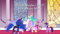 "Celestia ""is aware that a fourth Alicorn princess exists"" S4E26"