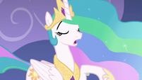 Princess Celestia repeating her line S8E7