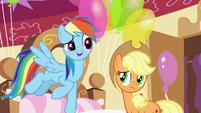 "Rainbow ""Pinkie Pie's tougher than she looks"" S5E11"